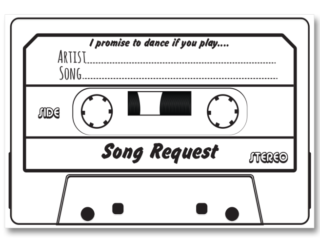 Song-request-tape